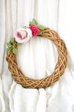 Roses garland Stock Image