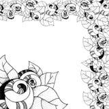 Roses graphiques Images libres de droits