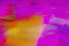 Roses indien et fond texturisé orange image libre de droits