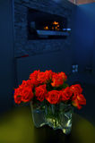 Roses in interior Royalty Free Stock Photo