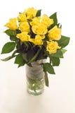 Roses jaunes Images libres de droits
