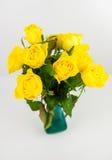 Roses jaunes Image stock
