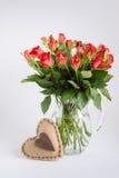Roses in jug. Royalty Free Stock Image