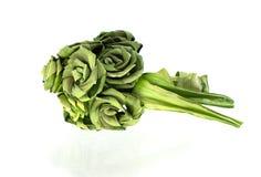 Roses made from Pandanus Stock Photo