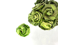 Roses made ​​from Pandanus Royalty Free Stock Photo