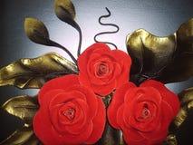 Roses magiques Photos libres de droits