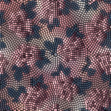 Roses mosaic Stock Image
