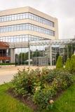 Roses near the Burgas Free University, Bulgaria Stock Photo