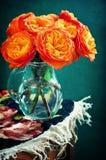 Roses oranges. Photographie stock libre de droits