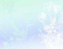 Roses Paper Background 4 Stock Photography