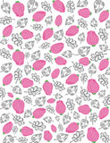 Roses pattern-5 Stock Image