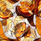 Roses  pattern Royalty Free Stock Photography