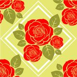 Roses pattern Royalty Free Stock Images