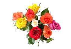 Roses pour la carte de jour de valentines photographie stock