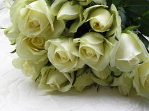 Roses pour la mariée Image stock