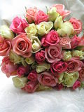 Roses pour la mariée Images libres de droits