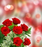 Roses pour la Saint-Valentin Images stock