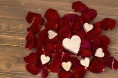 Roses pour la Saint-Valentin Photos libres de droits