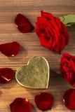 Roses pour le jour de valentine et le jour de mère Image stock