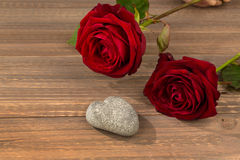 Roses pour le jour de valentine et le jour de mère Images stock