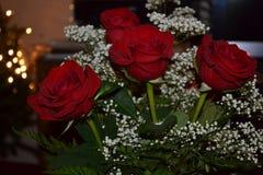Roses pour mon amour Image libre de droits