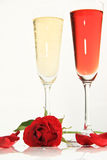 Roses of Romance Stock Images