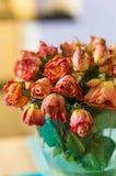 Roses roses de mort Photo libre de droits