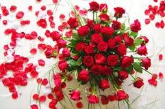 Roses_1 rouge Photo libre de droits