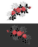 Roses rouges Illustration Stock