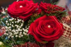 Roses rouges pour la Saint-Valentin Image stock