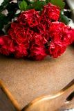 Roses rouges pour la Saint-Valentin Photographie stock libre de droits
