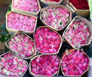 Roses for sale Royalty Free Stock Photos