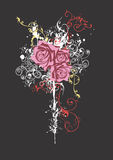 Roses sales Images libres de droits