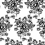 Roses Seamless Stock Photography