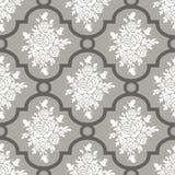 Roses seamless pattern Stock Photos
