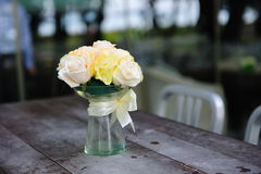 Roses on table Stock Photos