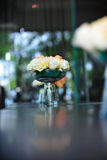 Roses on table Stock Images