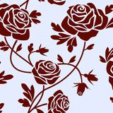 Roses tile Royalty Free Stock Images