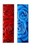 Roses tiles stock photos