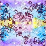 Roses - usines décoratives de composition, de parfumerie et de cosmétique wallpaper Employez le matériel imprimé Image libre de droits