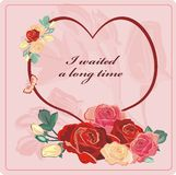 Roses valentine Royalty Free Stock Photos