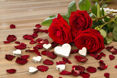 Roses for valentine's day and mother's day Stock Photography