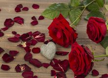 Roses for valentine's and mother's day Stock Photo