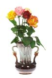 Roses in a vase. Stock Photo
