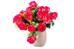 Roses in vase Stock Photo