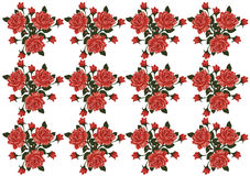 Roses Vector Pattern stock images