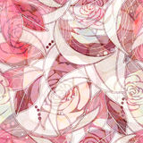 Roses vector pattern Royalty Free Stock Photography