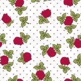 Roses vintage pattern Stock Images