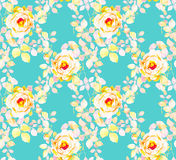 Roses watercolor seamless pattern Royalty Free Stock Photography