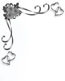 Roses Wedding Invitation Vintage design royalty free stock images